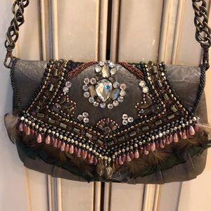 Mary Frances rare embellished evening bag